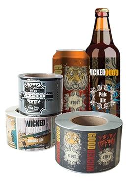 Smyth Companies Digital Craft Beer Label Samples
